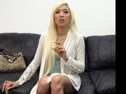 Deaf Girl Kim on Backroom Casting Couch