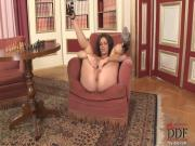 Bobbi Starr playing with her pussy