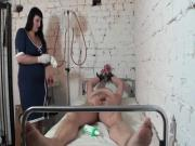 The clinic room the Femdom Empire