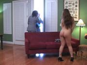 Adriana Bent Over & Strapped 5min