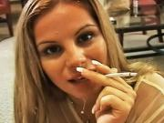 Lusty Friday wants to give you a smoking blowjob for your birthday