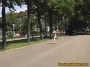 Lake of street urine