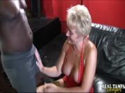Blonde Milf Sucks Black Cock