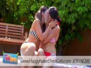 Courtney Loxx presents First Time Les Teens!