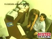 Boss Hand Job Spycam