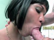 Latina wife Rosario Stone in a cheap motel room & getting her cunt plowed