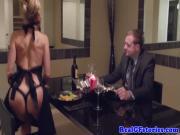 Cougar Brandi wants his man juice for dessert