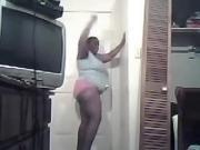 Ebony BBW Dance