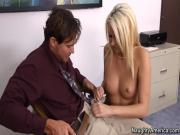 Naughty Office with dirty secretary