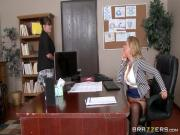 Huge funbags At Work Cherie Deville & Johnny Sins in my wife's boss