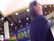 Liliet sucking a dick in the mall