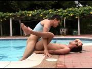 Oscar & Fabio Poolside Bareback