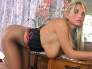 Ines Cudna in Pantyhose
