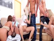 Casual group sex in the afternoon