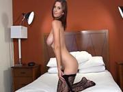 Chrissy's big natural boobs