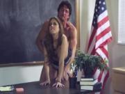 Legendary Jenna Haze back in school