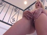 Horny Sierra making her pussy throb