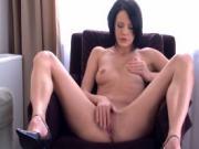 Sexy slut keeps her heels on