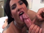 Brazilian chick knows her way around a pole