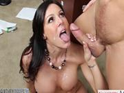 Hot MILF Kendra Lust fucking her boss