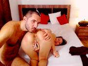 Flaming Hot Couple Anal Fucking Live On Cam