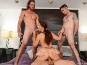Syren De Mer Gangbang My Three Stepsons MommyGotBoobs