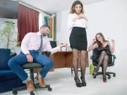 Holly Kiss and Penelope Cum Kiss and Tell OfficeObsession