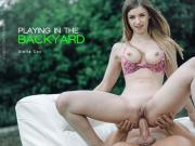 Stella Cox Playing in the Backyard ElegantAnal
