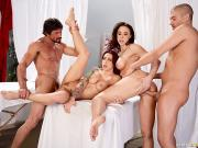 Chanel Preston and Monique Alexander Lets Get Facials Brazzers Exxtra