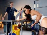 Cindy Starfall The Janitors Closet parts 2 BigTitsAtWork Brazzers