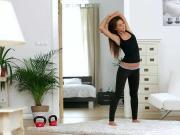 Alexis Brill Sensual Workout 21Naturals