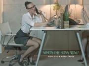 Aidra Fox and Ariana Marie Whos The Boss Now OfficeObsession