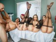 Anna Bell Peaks, Nicole Aniston, Rachel Starr, Romi Rain The Last Dick On Earth Brazzers