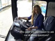 Brittany Bardot Copper Fucks Bus Driver in the Arse FakeCop