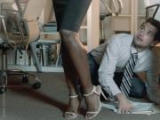 Ana Foxxx Bitch Boss OfficeObsession