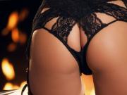 Eva Lovia solo in Fireside Fun Twistys