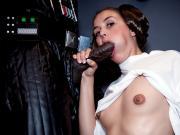 Star Wars XXX: A Porn Parody Allie Haze scene 1 Wicked