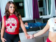 Adriana Chechik and Megan Rain Sleepover Special Digital Playground