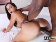 Keisha Grey's Big Ass Takes A Huge Black Cock