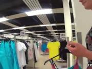 Flawless czech kitten is seduced in the mall and shagged in p