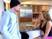 A hunk teen tyler Nixon fucks a hot MILF for cash