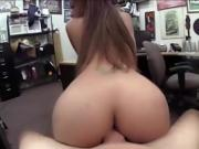 Brittany White fucks pawn man for cash