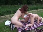 2 black guys blonde Hot lezzies going on a picnic