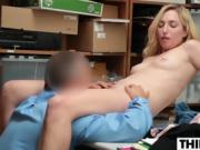 Blonde Zoe Parker Gets Punished By The Officer
