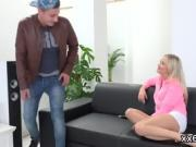 Stud assists with hymen checkup and pounding of virgin sweeti