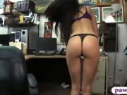 Babe sells her ring and gets banged by nasty pawn guy