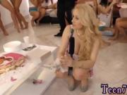 Teen webcam mirror 40 dolls came over to soiree and celebrate
