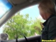 Cute Hitchhiker Sucks Dick