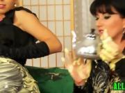 Lesbians making a mess