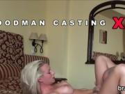 Casting centerfold goes away after hardcore fucking and anal